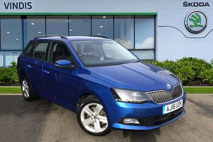 SKODA Fabia Estate SE L 1.4 TDI 105 PS 5G Man